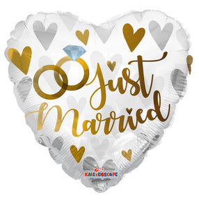 Just Married Foil