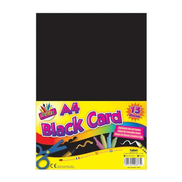 BLACK ACTIVITY CARDS A4