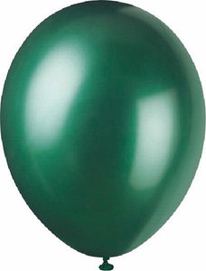 GREEN PEARLISED BALLOONS