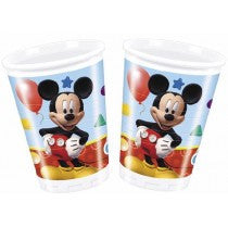 Playful Mickey Plastic Cups