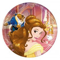BEAUTY AND THE BEAST PLATES