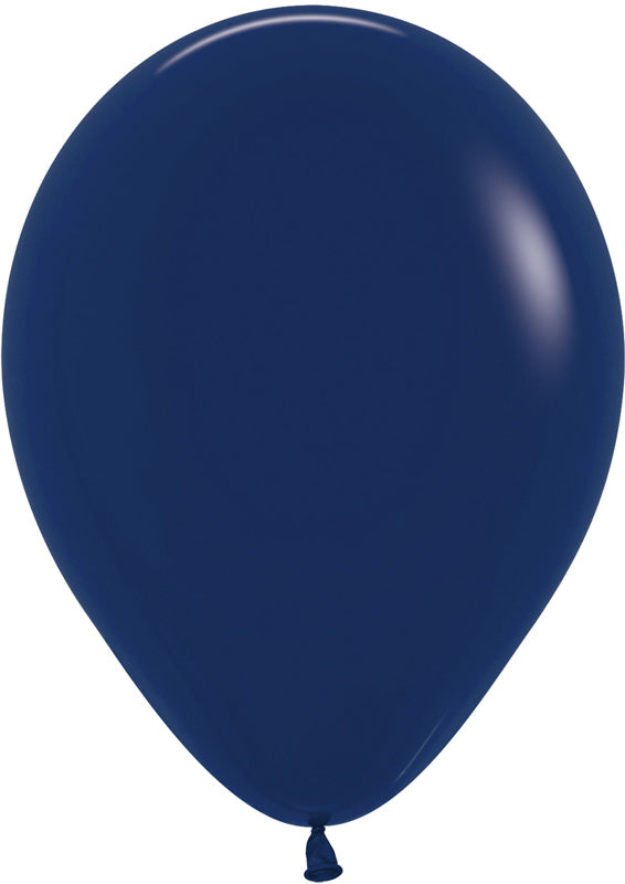 SEMPERTEX FASHION NAVY BLUE BALLOONS