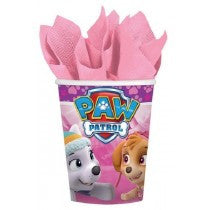 9OZ PAW PATROL GIRL CUPS