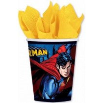 9OZ SUPERMAN CUPS