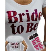 BRIDE TO BE IRON LOGO