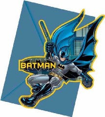 BATMAN INVITATIONS & ENVELOPES