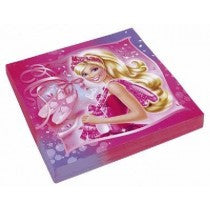 Barbie Lunch Napkin