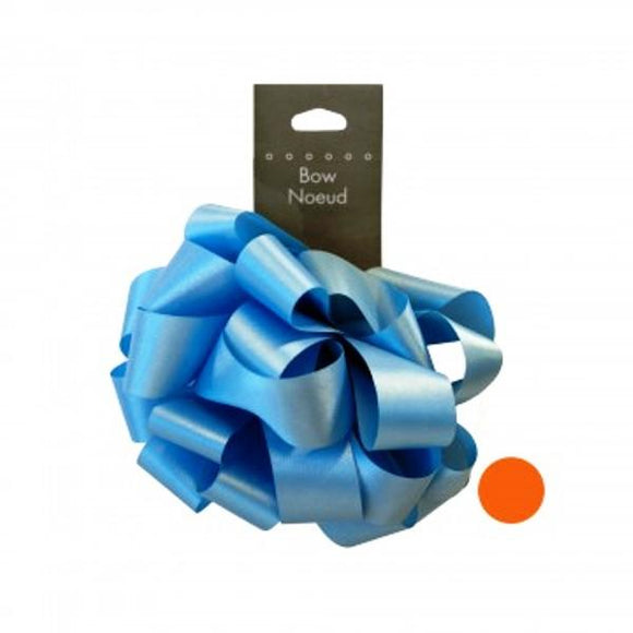 Light Blue Gift Bow