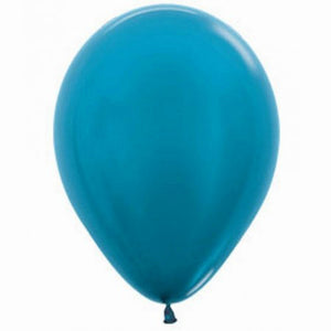 Carribean Blue Balloons