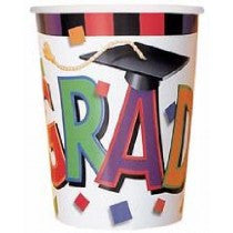 Graduation Cap Cups
