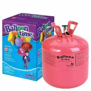 Disposable Helium Gas