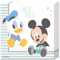Infant Mickey Lunch Napkins