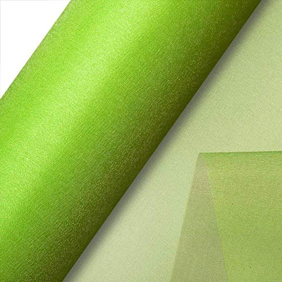 Lime Organza Roll