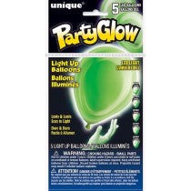 Lime Green Light Up Balloons