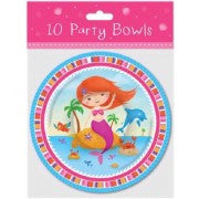Mermaid Party Bowls
