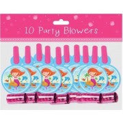 Mermaid Party Blowers