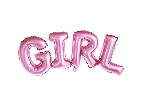 GIRL Foil Balloon