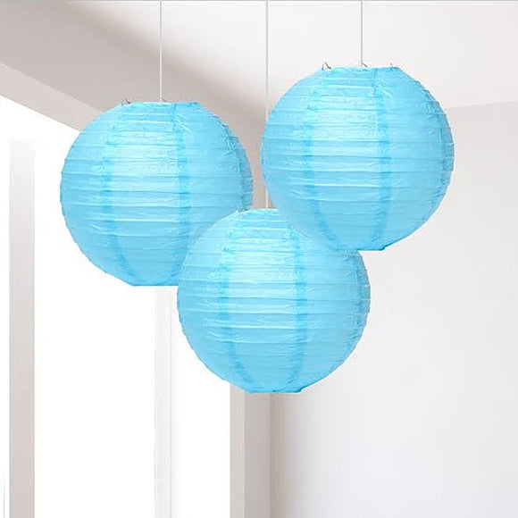 Paper Lantern Light Blue
