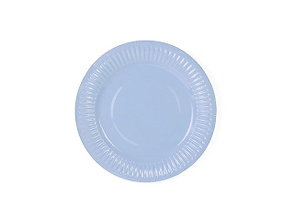 Pale Blue 7in Paper Plates