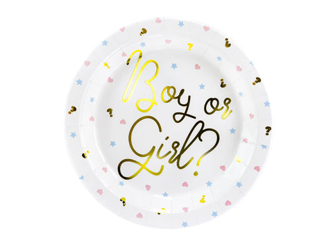 Boy or Girl Plates