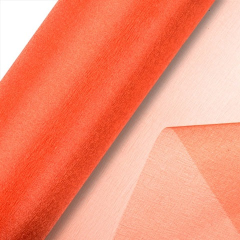 Orange Organza Roll