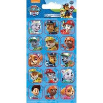 PAW PATROL CAPTIONS FOIL STICKERS