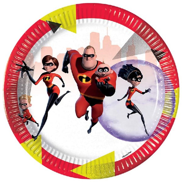 The Incredibles Plate