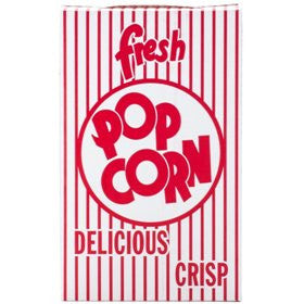 .74 oz. Close-top Cardboard Popcorn Box