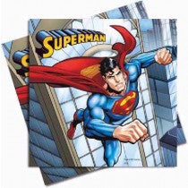 SUPERMAN L/NAPKINS