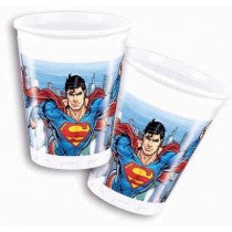 SUPERMAN PLASTIC CUPS