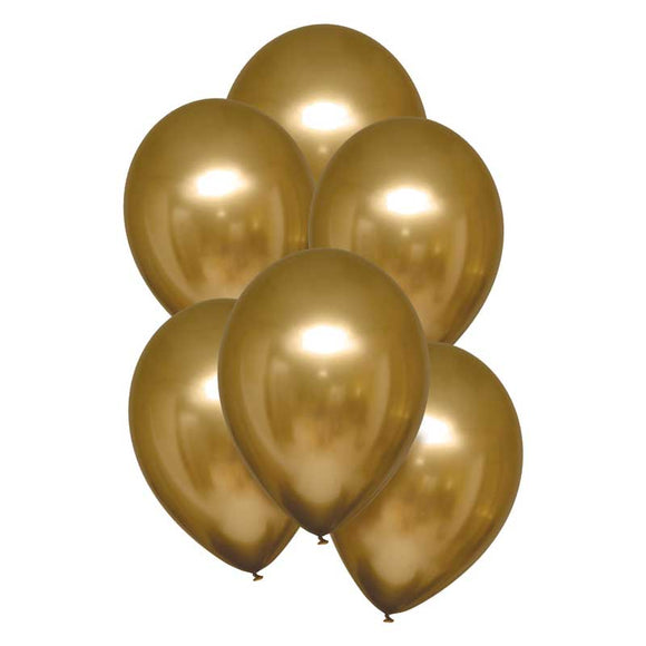 Satin Gold Balloons