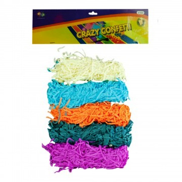 Multi Color Shredded Paper Pack