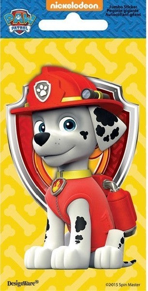 PAW PATROL MARSHAL JUMBO STICKER
