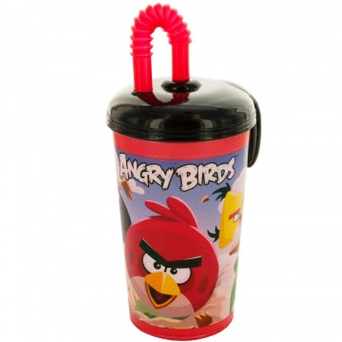 Angry Birds Sports tumbler W/ Straw