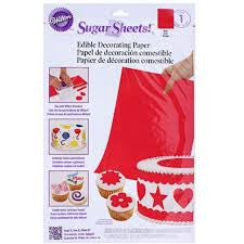 Wilton Sugar Sheet-Red