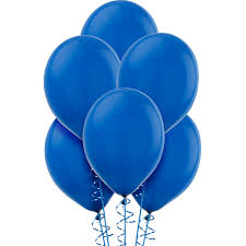 Blue Value Balloons