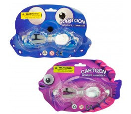 Cartoon Swim Goggles