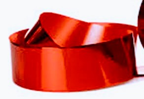 Red Metallic Ribbons