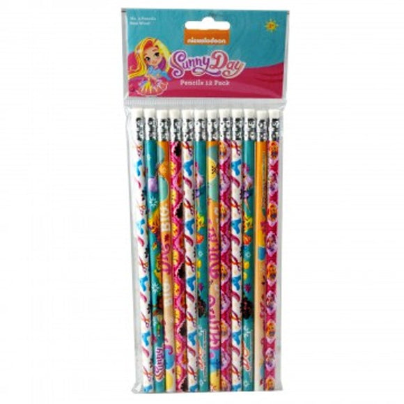 Nickoledeon Pencil Pack 12pk