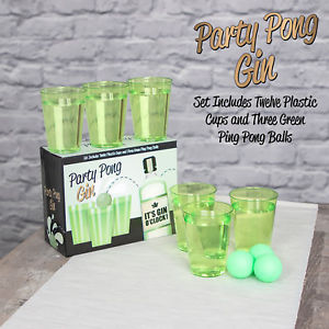 Party Pong Gin Game