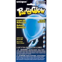 Twighlight Blue Light Up Balloons