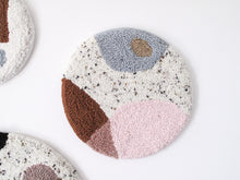 Fibre Wall Art in Mixed Organic Shapes