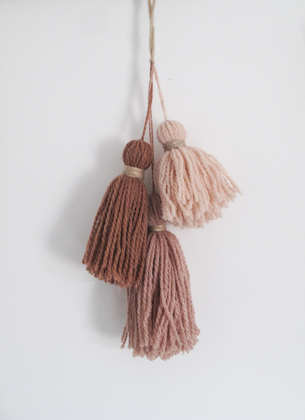 Chunky Tassel Trio Decoration