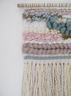 Weaving in Soft Muted Tones and Pastels *Custom Order For Lauren*