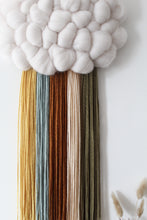 Cloud Woven Wall Hanging in Nature Mix