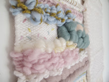 Weaving in Soft Muted Tones and Pastels *made to order*
