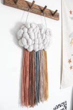 Cloud Woven Wall Hanging in muted warm tones