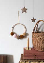 Christmas Sparkle Hanging Stars Gold