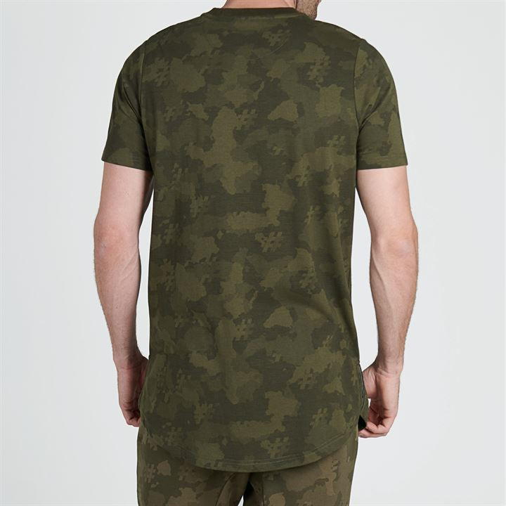 Five Street Long Line T-Shirt Mens