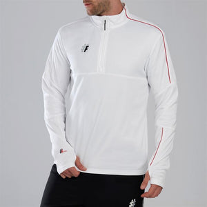Five Stadium Quarter Zip Funnel Neck Top Mens